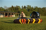 Peeter Tarmet, 32, got the tools he needed to promote his hovercraft rides in Tallinn, Estonia.