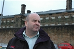 Allan McGinlay, 47, put prison behind him thanks to a life-coaching project in Wishaw, Scotland.