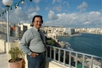 George Mifsud, 60, made a new start as a landscape maintenance worker in Malta.