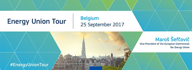 Next stop on the Energy Union Tour: Belgium