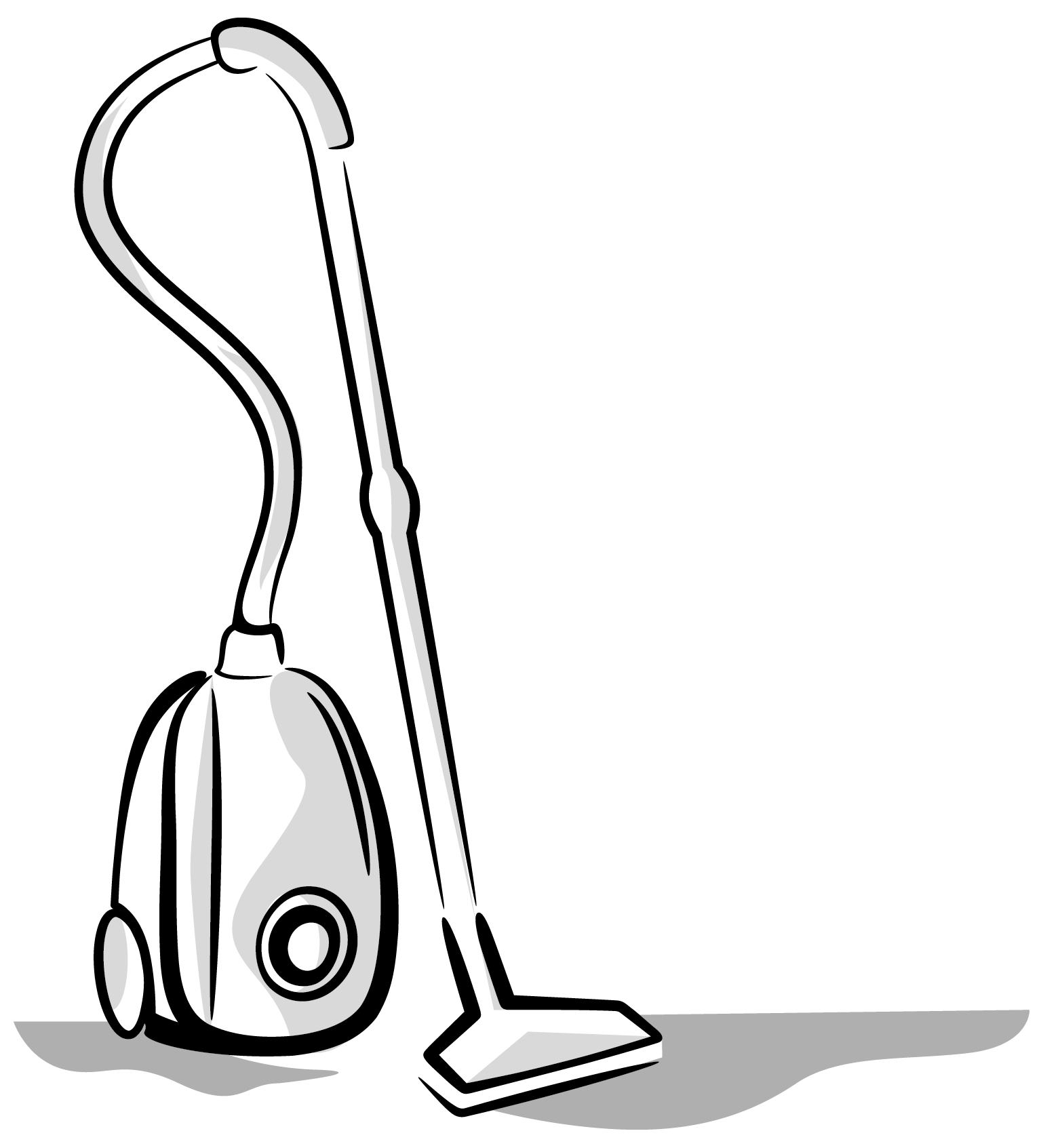 Coloring Page Of A Vacuum