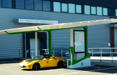 Solar-powered electric mobility