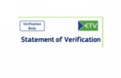 Official delivery of ETV Statements of Verification