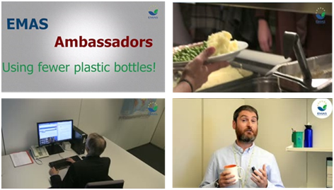 EMAS Ambassadors - Using fewer plastic bottles