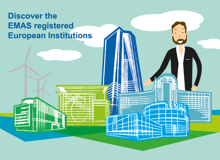 Discover the Emas registered European Institutions