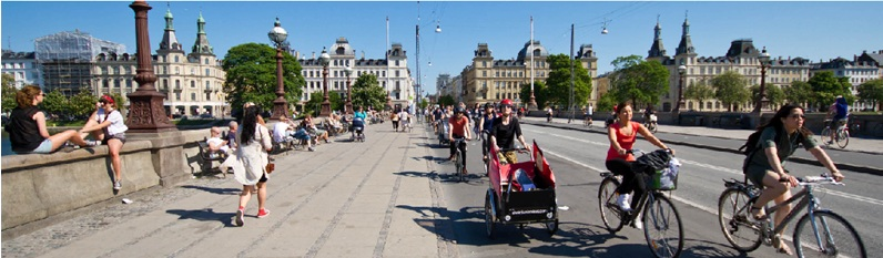 Sustainable mobility in the 2014 European Green Capital, Copenhagen