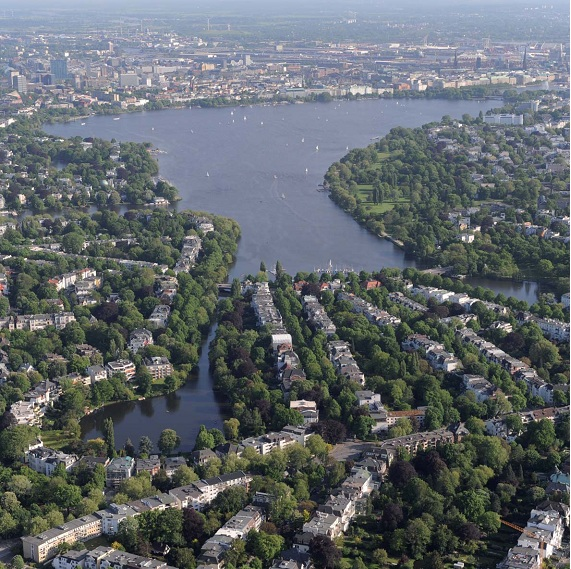Hamburg is one of Europe's greenest cities. Parks, green spaces and trees shape the city and promote a high quality of life