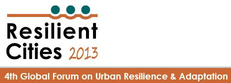 31.05.13 Resilient Cities Conference