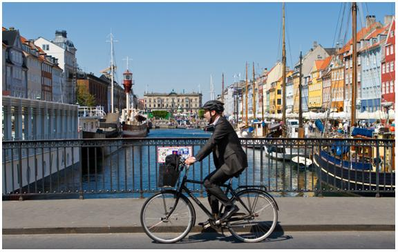 Copenhagen is a highly successful role model for the green economy