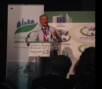 Karl Falkenberg, Director General DG Environment speaking at the launch of the European Green Capital Award 2017.