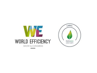 13 10 15 World Efficiency Show and COP21  logo