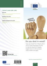 EU Timber Regulation - Leaflet