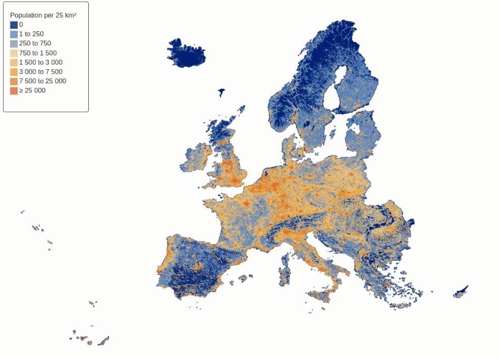 Eurostat Regions In Europe Statistics Visualised