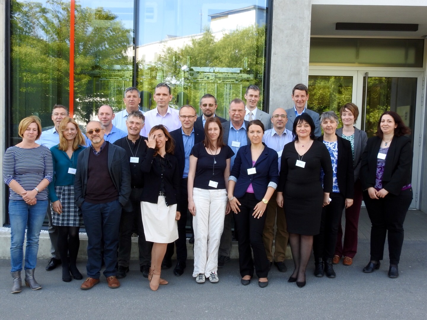 Group picture: Extended Coordinating Group