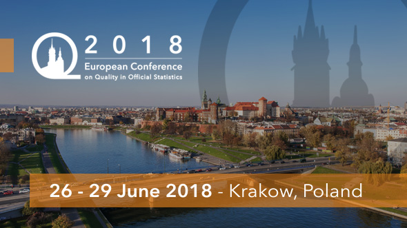 Q2018 - the 2018 European conference on Quality in Official Statistics