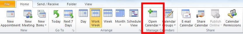 Internet calendar header image