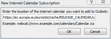 Internet calendar subscription image