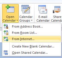 Open calendar image