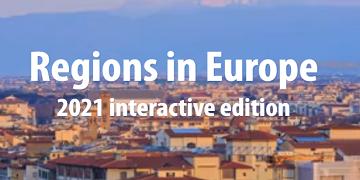 interaktiven Veröffentlichung: Regions in Europe