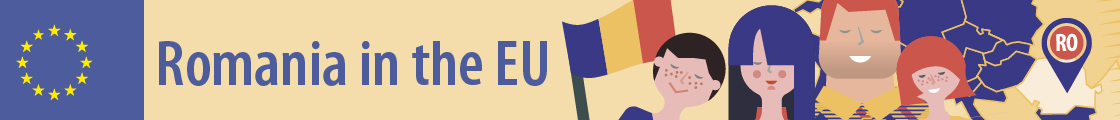Banner: Romania in the EU