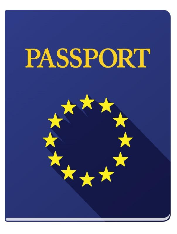 Icon EU passport