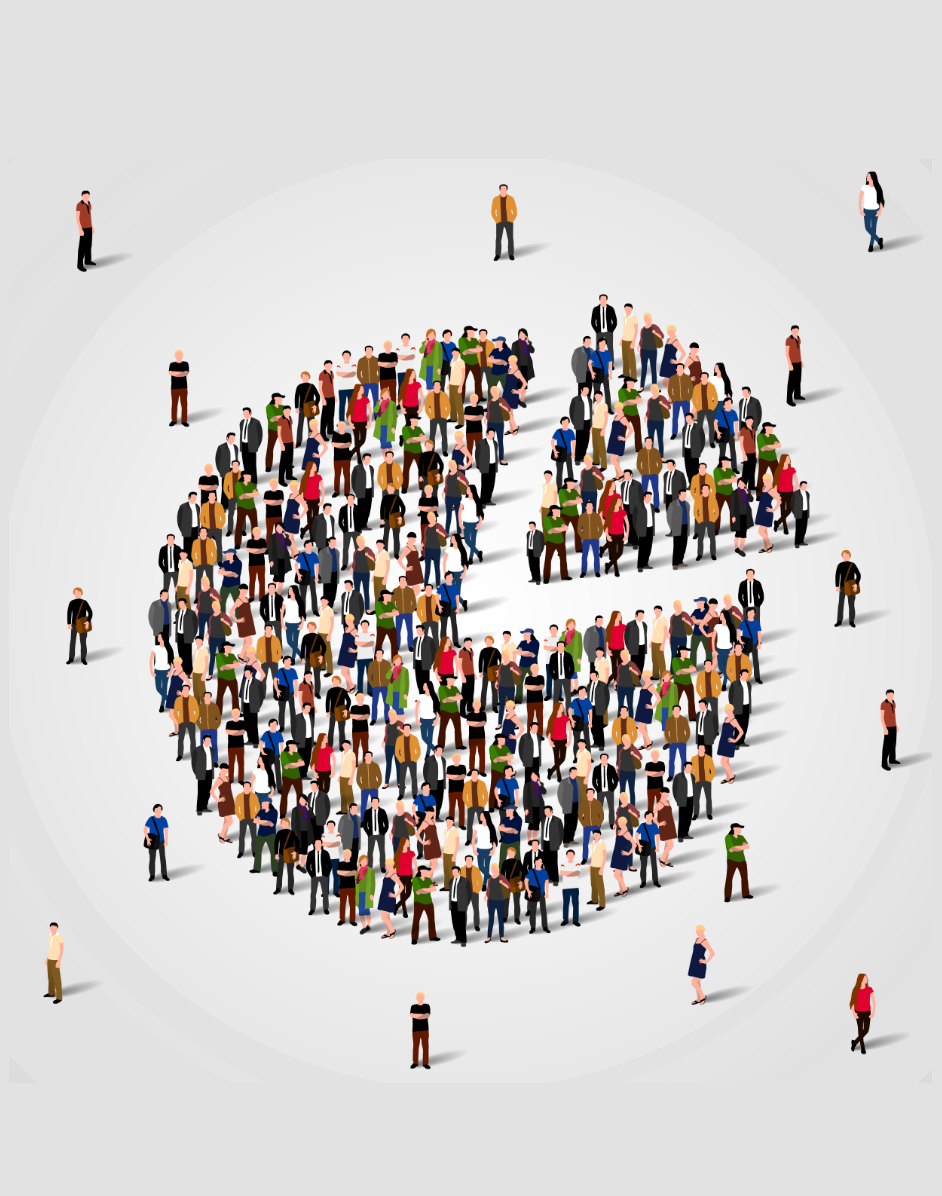 Image population statistics
