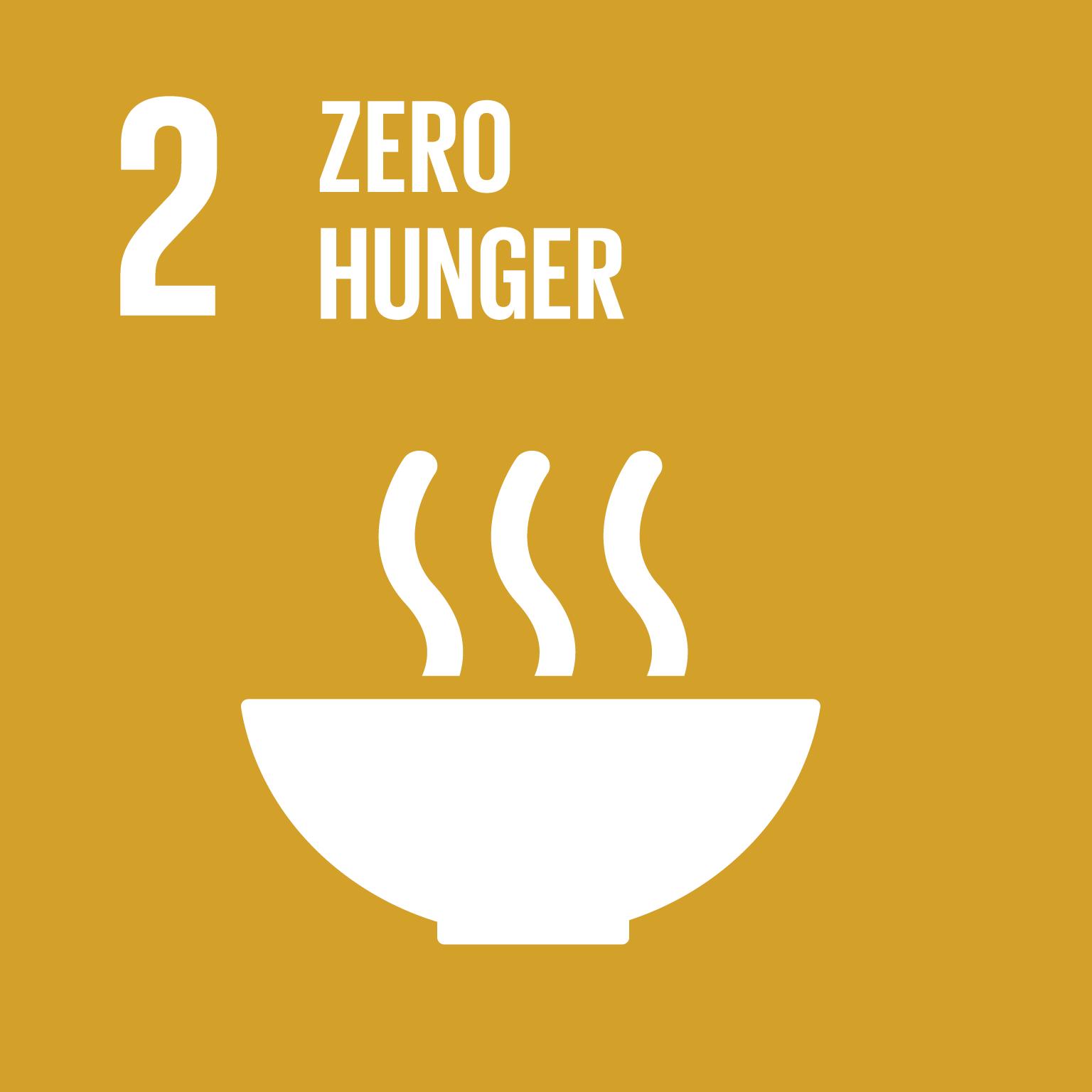 SDG Goal 2 'Zero hunger' © UN