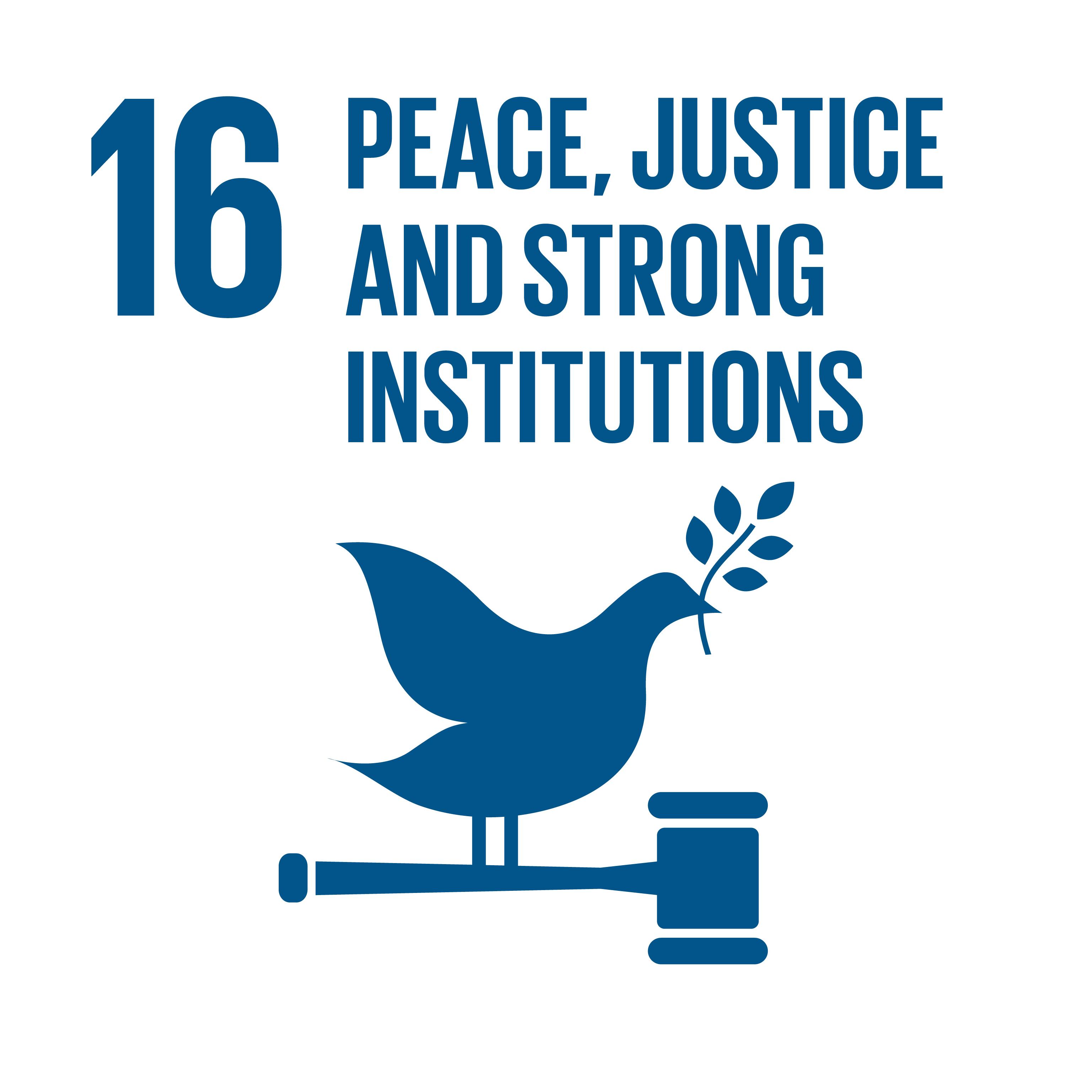 Image SDG 16; © UN
