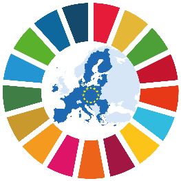 Image SDG © European Union /  © Colour wheel: United Nations
