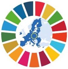 Bild SDG © Europäische Union / © Farbring: Vereinte Nationen