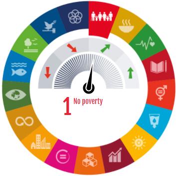 Image illustrant la visualisation sur les ODD; Icônes © Nations unies