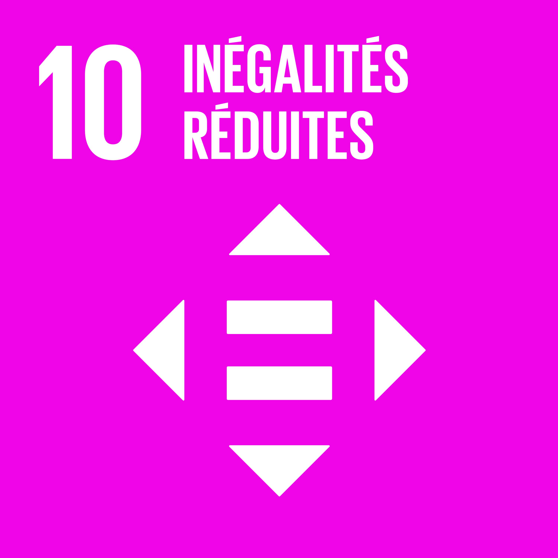 Objectif 10: Inégalités réduites © Nations unies
