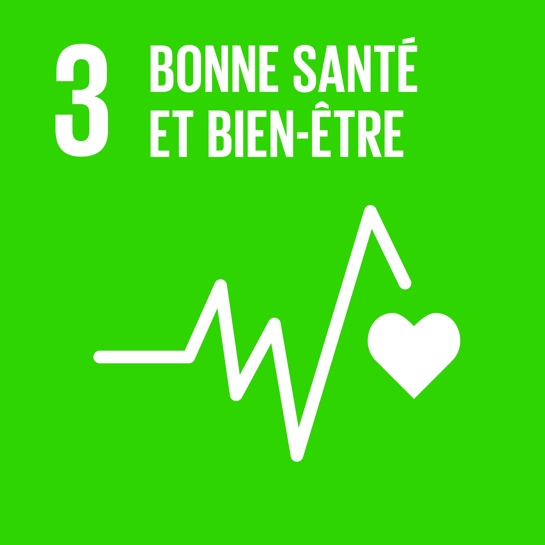 Objectif 3: Bonne santé et bien-être © Nations unies