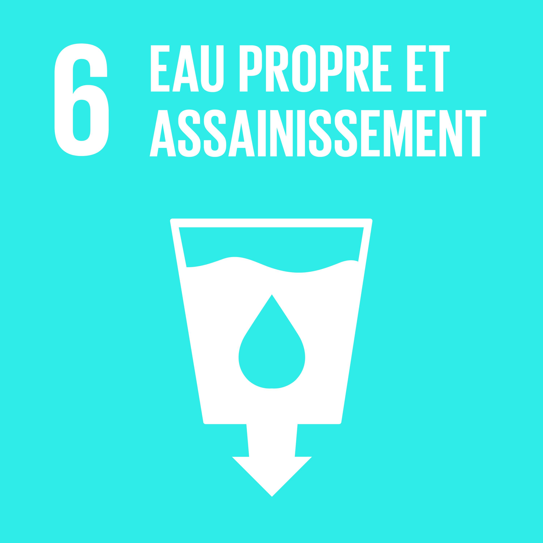 Objectif 6: Eau propre et assainissement © Nations unies