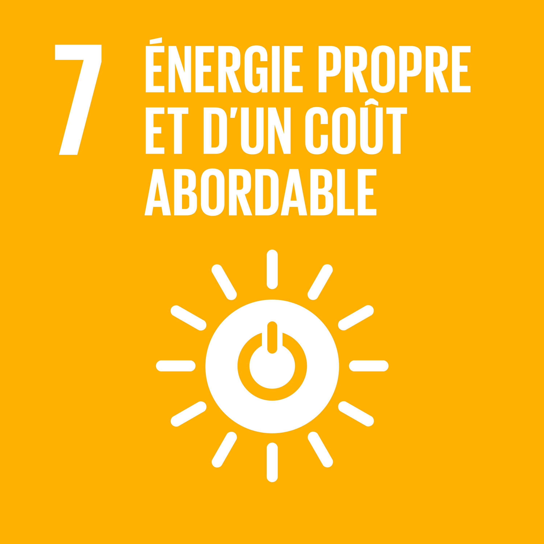 Objectif 7: Énergie propre et d'un coût abordable © Nations unies