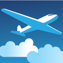 Icon illustrating the air traffic web application