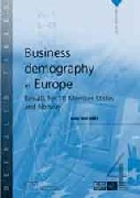 Business demography in Europe – Results for 10 Member States and Norway- Data 1997 – 2001