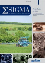 Sigma – The Bulletin of European Statistics – From farm to fork