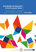Cover Image Sustainable development in the European Union — Monitoring report on progress towards the SDGs in an EU context — 2019 edition