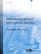 Methodology of short-term business statistics - Associated documents