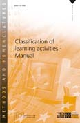 Classification of learning activities - Manual