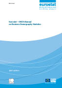 Cover Image Eurostat-OECD Manual on Business Demography Statistics