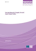 Cover Image Eurostat Manual of Supply, Use and Input-Output Tables
