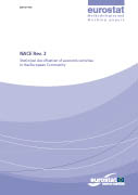 Cover Image NACE Rev. 2 - Statistical classification of economic activities