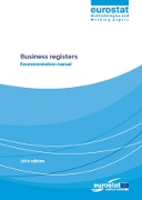 Business registers - recommendations manual