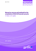 Manual on sources and methods for ESA 95 financial accounts - 2nd edition - 2011 update