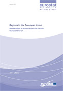 Couverture Regions in the European Union - Nomenclature of territorial units for statistics - NUTS 2010/EU-27
