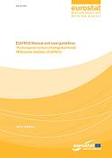 ESSPROS Manual and user guidelines – 2012 edition