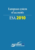 Cover Image European system of accounts - ESA 2010