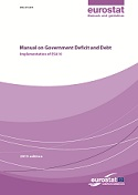Manual on Government Deficit and Debt - Implementation of ESA10 - 2013 edition